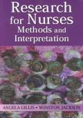 Research for Nurses: Methods and Interpretation