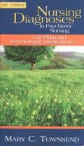 Nursing Diagnoses In Psychiatric Nursing Care Plans & Psychotropic Medications 6th Edition