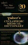 Tabers Cyclopedic Medical Dictionary 20th Edition Indexed