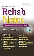 Rehab Notes A Clinical Examination Pocket Guide