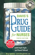 Davis's Drug Guide for Nurses with CDROM Cover