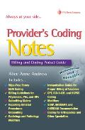 Providers Coding Notes Billing & Coding Pocket Guide