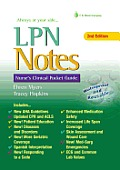 LPN Notes Nurses Clinical Pocket Guide 2nd Edition