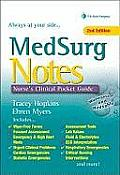 Hopkins and Myers Medsurg Notes: Clinical Pocket Guide