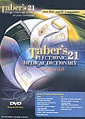 Taber's Electronic Medical Dictionary 4.0-DVD (Software) (09 Edition)