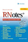 RNotes: Nurse's Clinical Pocket Guide 3rd Edition (Rnotes: Nurse's Clinical Pocket Guide) Cover