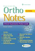 Ortho Notes Clinical Examination Pocket Guide