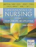 Fundamentals Of Nursing Volume 1 Theory Concepts & Applications