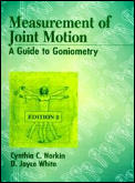 Measurement Of Joint Motion A Guide To Goniome