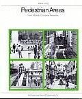 Pedestrian Areas