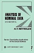 Quantitative Applications in the Social Sciences #07: Analysis of Nominal Data Cover