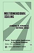Multidimensional Scaling 11 (78 Edition) Cover