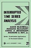 Quantitative Applications in the Social Sciences #21: Interrupted Time Series Analysis Cover