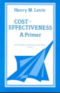 Cost Effectiveness : a Primer (83 - Old Edition)