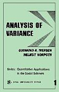 Analysis of Variance (2ND 87 Edition) Cover