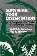 Surviving Your Dissertation A Comprehens