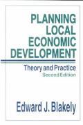 Planning Local Economic Development 2ND Edition