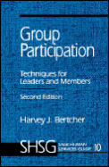 Sage Human Services Guides #10: Group Participation: Techniques for Leaders and Members Cover