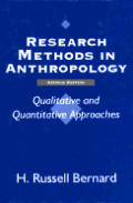 Research Methods In Anthropology 2nd Edition