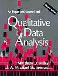 Qualitative Data Analysis: An Expanded Sourcebook Cover