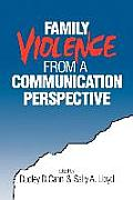 Family Violence from a Communication Perspective Cover