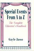 Special Events from A to Z