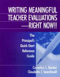 Writing Meaningful Teacher Evaluations R