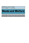 Needs and Welfare