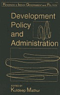 Development Policy and Administration
