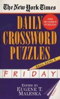 New York Times Daily Crossword Puzzles Friday, Skill Level 5 #1: The New York Times Daily Crossword Puzzles Friday, Skill Level 5