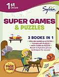 1st Grade Super Games & Puzzles (Sylvan Learning)
