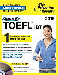 Cracking the Toefl Ibt 2015 Edition - With CD (5TH 14 - Old Edition)