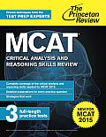 MCAT Verbal Reasoning Review 3rd Edition