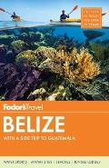 Fodors Belize 6th Edition
