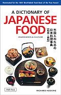 A Dictionary of Japanese Food Cover