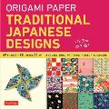 Origami Paper Traditional Japanese Designs Large Cover