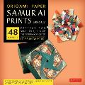 "Origami Paper Samurai Prints, Large 8 1/4"" [With Booklet]"