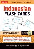 Indonesian Flash Cards [With CD (Audio)] (Tuttle Flash Cards)