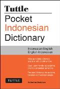 Tuttle Pocket Indonesian Dictionary Indonesian-English English-Indonesian