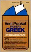 Vest Pocket Modern Greek