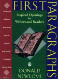 First Paragraphs Inspired Openings for Writers & Readers