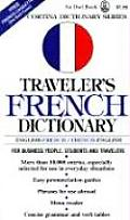Travelers French Dictionary English French