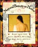 Natural Beauty at Home Cover