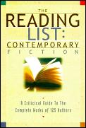 Reading List Contemporary Fiction