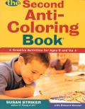 The Second Anti-Coloring Book (Anti-Coloring Books) Cover