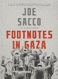 Footnotes in Gaza A Graphic Novel