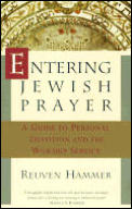 Entering Jewish Prayer: A Guide to Personal Devotion and the Worship Service Cover