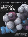 Organic Chemistry Study Guide and Student Solutions Manual Volume 1
