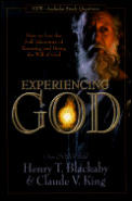 Experiencing God: How to Live the Full Adventure of Knowing and Doing the Will of God Cover
