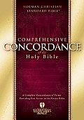 Comprehensive Concordance of the Holy Bible (Holman Christian Standard Bible)
